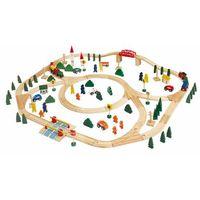 Kolejki i tory dla dzieci, Woody Kolejka zestaw Maxi, 120 elementów - BEZPŁATNY ODBIÓR: WROCŁAW!