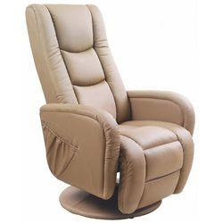 Fotel masujący Litos - beżowy