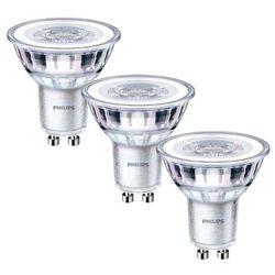 Żarówka LED Philips GU10 3,5 W 255 lm przezroczysta barwa ciepła 3 szt.