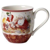 Ozdoby świąteczne, Villeroy & Boch - Toy's Fantasy Kubek Warsztat św. Mikołaja
