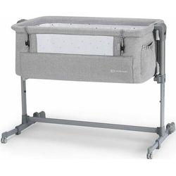 KinderKraft łóżeczko dziecięce Neste UP grey light melange