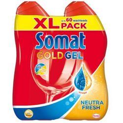 Żel do mycia naczyń SOMAT Gold Neutra Fresh 2x600ml