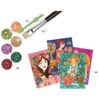 Kreatywne dla dzieci, Djeco zestaw kreatywny Dziewczyny z kwiatów - BEZPŁATNY ODBIÓR: WROCŁAW!