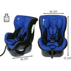 Fotelik samochodowy 0-18 kg KinderSafe Baby GE-B - Niebieski