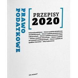 Prawo podatkowe przepisy 2020 - anna prus
