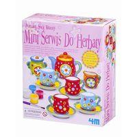 Kreatywne dla dzieci, 4M, Mini zastawa do herbaty, zestaw kreatywny