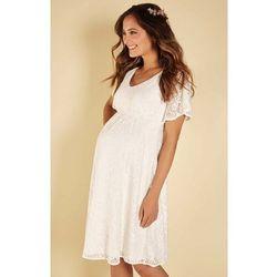 Sukienka ciążowa ślubna Edith krótka