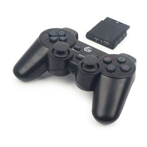 Gamepady, Gamepad Gembird Gamepad GEMBIRD USB/PC/PS2/PS3 Kabellos DualVibr. 10 Tasten - JPD-WDV-01 Darmowy odbiór w 19 miastach!