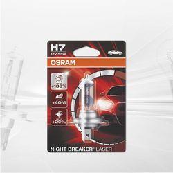 Żarówka samochodowa H7 OSRAM Night Breaker Laser, PX26d, 55 W, 12 V, 1 szt.
