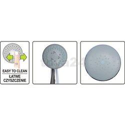 Zestaw prysznicowy z deszczownica RIBON Fala 75661 - ZYSKAJ RABAT 30 ZŁ