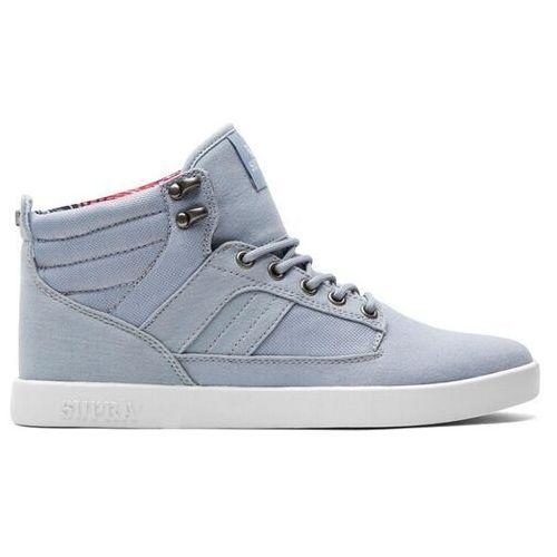 Męskie obuwie sportowe, buty SUPRA - Bandit Midt Grey/White (GYW) rozmiar: 37.5