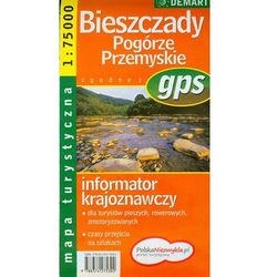 Bieszczady. Pogórze Przemyskie. Mapa turystyczna 1: 75 000 (opr. miękka)