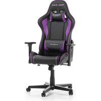 Fotele dla graczy, Fotel DXRacer Formula Gaming czarno-fioletowy OH/FH08/NV Darmowy odbiór w 21 miastach!