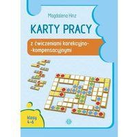 Książki dla dzieci, Karty pracy z ćwiczeniami korekcyjno-kompensacyjnymi. Klasy 4-6 (opr. miękka)