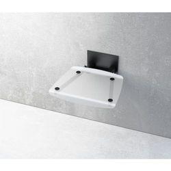 Ravak siedzisko prysznicowe Ovo B clear/czarne B8F0000045