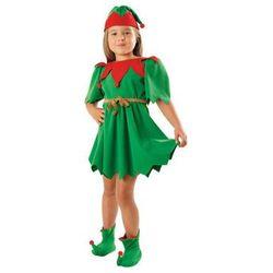 Kostium Elf Zielony sukienka