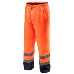 Spodnie robocze wodoodporne pomarańczowe S NEO