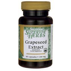 Swanson Grapeseed Extract (Ekstrakt z pestek winogron) 200mg 60 kaps.
