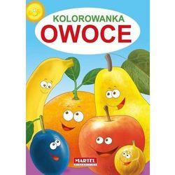 Kolorowanka. Owoce + zakładka do książki GRATIS