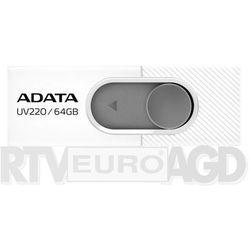 Adata UV220 64GB USB2.0 Biało-szary