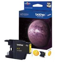 Tusze do drukarek, Brother tusz LC-1220Y (yellow) Szybka dostawa! Darmowy odbiór w 19 miastach!