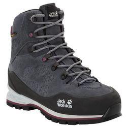 Damskie buty trekkingowe WILDERNESS XT TEXAPORE MID W ebony / burgundy - 4,5