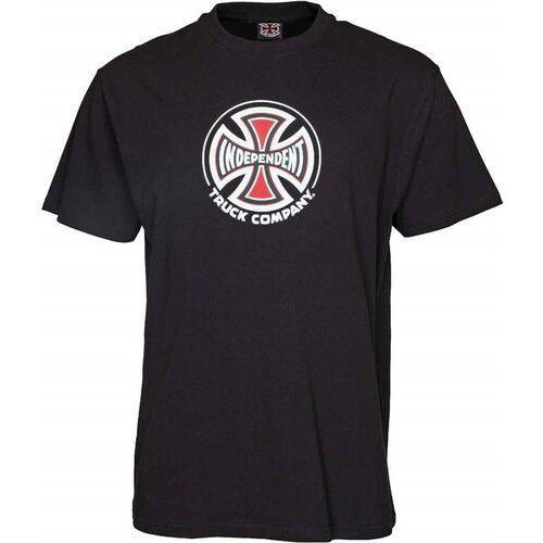 T-shirty męskie, koszulka INDEPENDENT - Truck Co. Black (BLACK)