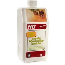 HG czysty błyszczący parkiet - nadaje połysk ||bieżąca pielęgnacja parkietów i podłóg drewnianych ||czyści i przywraca piękny połysk ||drewno bejcowane ||wzmacnia naturalny kolor drewna ||drewno lakierowane