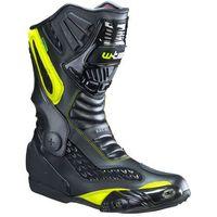 Buty motocyklowe, Skórzane buty motocyklowe W-TEC NF-6003, Zielony, 46