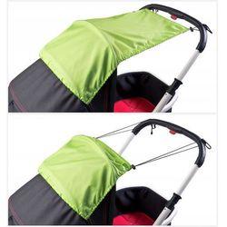 Daszek przeciwsłoneczny do wózka- green
