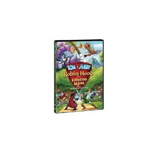 Filmy animowane, Tom i Jerry, Robin Hood i jego księżna mysz (DVD) - Dongyoung Lee, Youngmin Kwon OD 24,99zł DARMOWA DOSTAWA KIOSK RUCHU