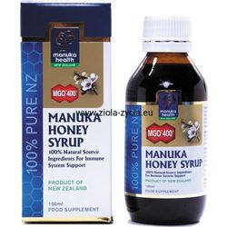 Syrop ziołowo-propolisowy z miodem Manuka MGO™ 400+ 100 ml - Manuka Health