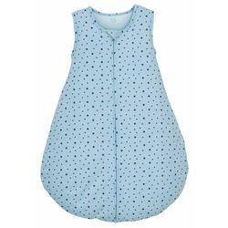 Śpiworek niemowlęcy bonprix jasnoniebieski