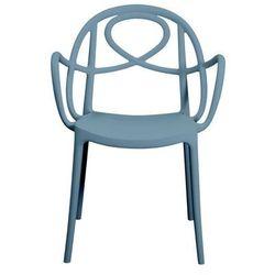 Krzesło ogrodowe Green Etoile P niebieskie