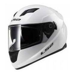 KASK MOTOCYKLOWY LS2 FF320 STREAM EVO SOLID WHITE Biały