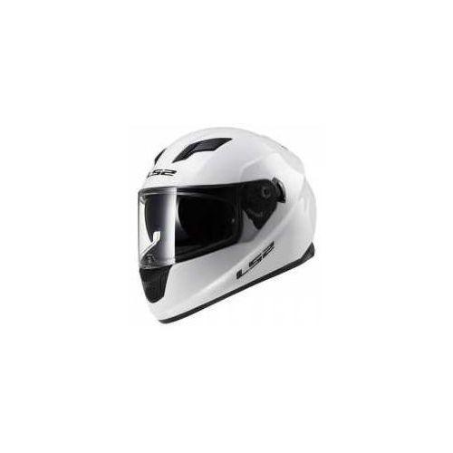 Kaski motocyklowe, KASK MOTOCYKLOWY LS2 FF320 STREAM EVO SOLID WHITE Biały