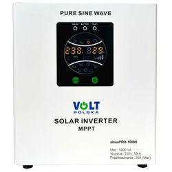 Inwerter SOLARNY SINUS PRO-1000S 12V / 230V 700/1000W