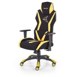 Fotel dla gracza gamingowy HALMAR STIG czarny/żółty