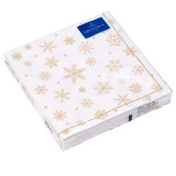 Villeroy & Boch - Winter Specials Serwetki obiadowe Śnieżynki 20 szt. wymiary: 33 x 33 cm