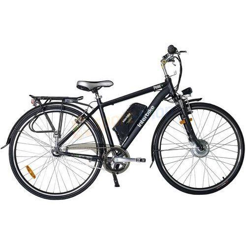 """Rowery elektryczne, Rower elektryczny Prime 26"""" Interbike (czarny)"""