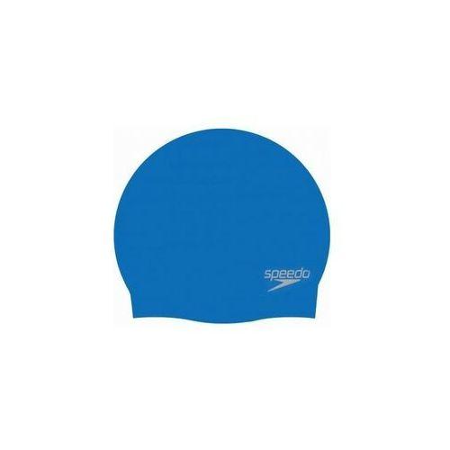 Czepki, Czepek Speedo Moulded silicone cap neon blue