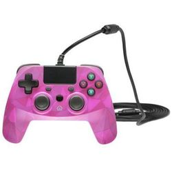 Kontroler SNAKEBYTE Game:Pad 4 S Camouflage Różowy do PS4