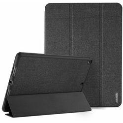 DUX DUCIS Domo składany pokrowiec etui na tablet z funkcją Smart Sleep podstawka + schowek na rysik Apple iPad 9.7 2018 / 9.7 2017 czarny - Czarny