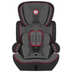Fotelik 9-36 kg Levi Plus czarno-czerwony