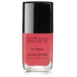 Gabriella Salvete Longlasting Enamel lakier do paznokci 11 ml dla kobiet 33 Coral