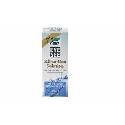Płyny pielęgnacyjne do soczewek, EYE SEE z hialuronianem 100 ml