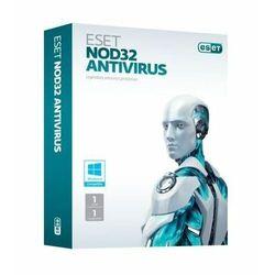 ESET NOD32 Antivirus BOX 1 - odnowienie na 2 lata ESET NOD32 Antivirus BOX 1 - desktop - odnowienie na 2 lata. Licencja uprawnia do pobrania najnowszej, dostępnej wersji programu