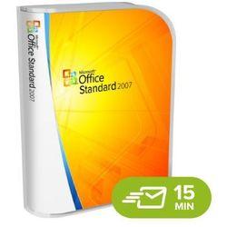 Office 2007 Standard elektroniczny certyfikat