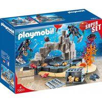 Klocki dla dzieci, Playmobil 70011 SuperSet Akcja jednostki płetwonurków