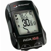 Liczniki rowerowe, Bezprzewodowy licznik - komputer rowerowy Sigma ROX 10.0 GPS czarny